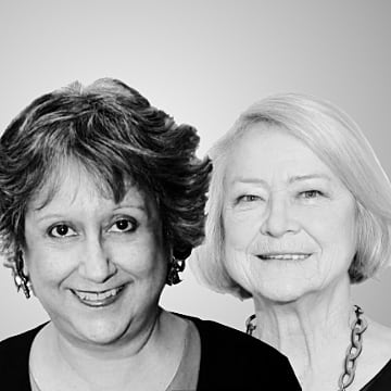 Yasmin Alibhai-Brown & Kate Adie